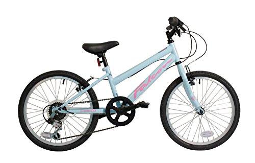 ht 20 Inch Girls Mountain Bike Light Blue 6 Gears - MV Sports