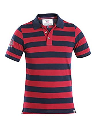 Jockey Boys' Striped Regular Fit Polo (UB16_Deep Red_8)