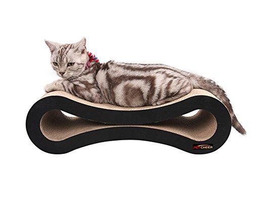 Likea Ultimate Kratzbaum für Katzen, mit Bett und Lounge.