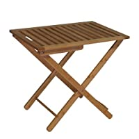 Proman Products Bali Bamboo Luggage Rack, Natural Color