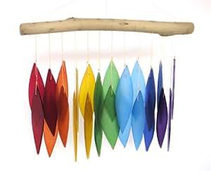 Rainbow & Treibholz Windspiel