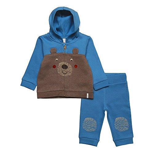 ESPRIT ESPRIT KIDS Baby-Jungen Jogginganzug RK36012 Blau (Aqua 466) 74