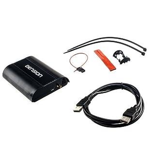 DENSION DAB+U (DBU3GEN) Universal Digitalradio DAB+ Interface für zu Hause & für Fahrzeuge mit werkseitig verbauten USB-Anschluss für BMW, Audi, Seat, Skoda & Citroen uvm.