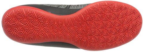 Nike Mercurialx Victory VI DF IC, Chaussures de Football Homme Noir (Black/white/dk Grey/univ Red)