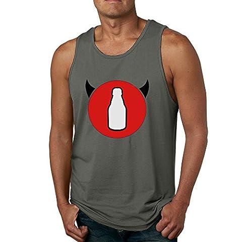 Nana Tank Top - T-Shirt à manches longues - Homme - Noir - M
