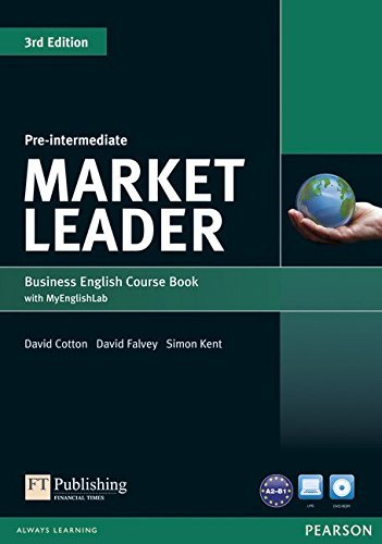 Market Leader Pre-Intermediate Coursebook with MyEnglishLab Student Online Access Code Pack by Mr David Cotton (2013-07-04)