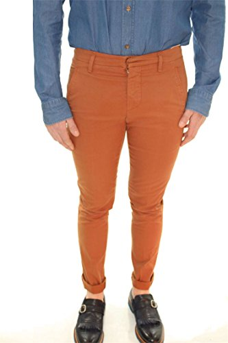 Dondup UP235 GS021U Pantalon Homme Rouille