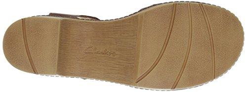 Clarks Preslet pietra Dress Sandal Tan