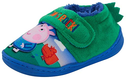 Peppa Pig George Pig 3D Dino Slippers