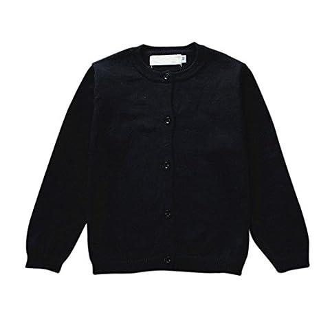 Brightup Frühling und Herbst Baumwoll Baby Kinder Pullover Strickjacke Langarm Jacke Mantel (Button-down-cotton Cardigan)