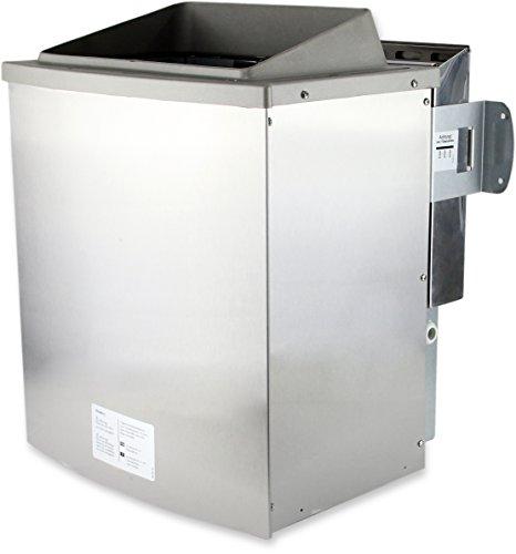 Karibu 9 kW Saunaofen für externe Steuerung (Bio-Ofen 9 kW mit Verdampfer)