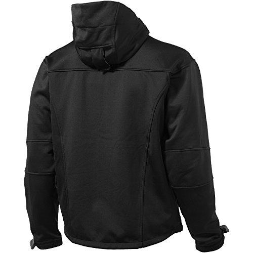 SLAZENGER Match Softshell Jacke tiefschwarz/hellgrau/grau
