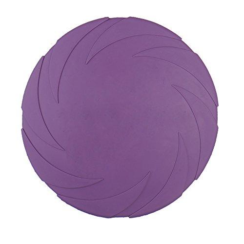 Preisvergleich Produktbild Samber Hunde Spielzeug Flying Disc für Hohe Qualität Weiches Gummi Pet Spielzeug Bite beständig Training Frisbee Soar Flyer