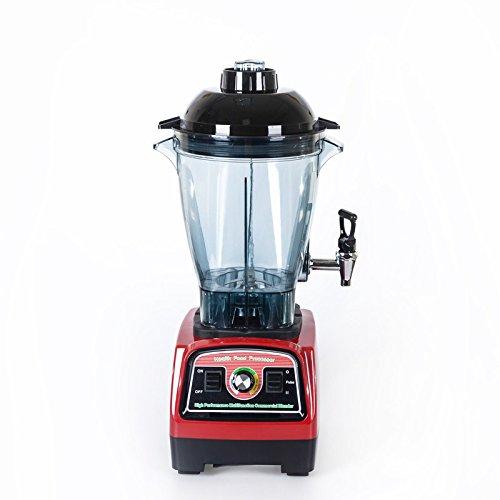 Licuadoras de batidos, batidora de batidos 2800w, batidora comercial, máquina mezcladora de jarras de alta velocidad 57000 rpm, batidora de hielo con función para manipular, 6 cuchillas afiladas, ne