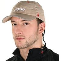 Musto Fast Dry Crew Cap in Light Stone AL1390