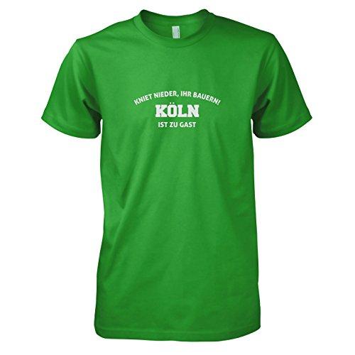 TEXLAB - Kniet nieder Köln - Herren T-Shirt Grün