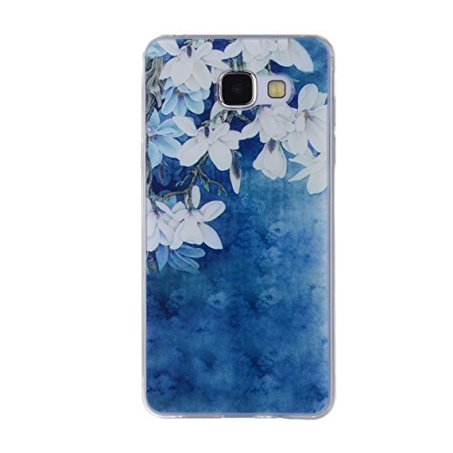 WYSTORE TPU Silicone Case for Samsung Galaxy A3 2016 Gel Rubber Cover Soft Flexible Shell Bumper Smooth Lightweight Skin Ultra Thin Shell Creative Design Sleeve Anti-Scratch Anti-Shock Cover Protectiv A6