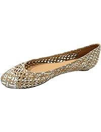 524ce38101ed Suchergebnis auf Amazon.de für  Flecht Ballerina  Schuhe   Handtaschen