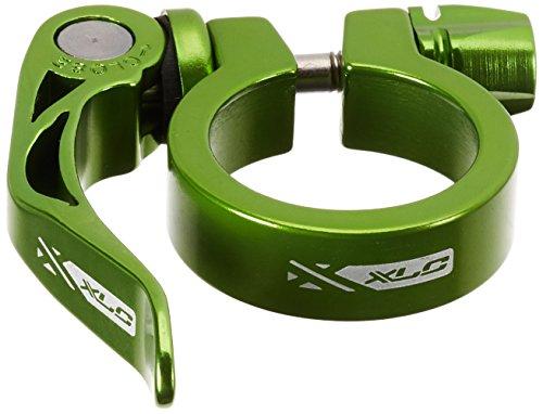 XLC Unisex- Erwachsene Sattelstützklemmring Sattelstütz-Klemmring PC-L04, Grün, One Size