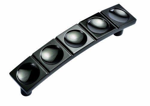 Hickory Hardware-P3585 BLN 3 In. Millennium Black Nickel Cabinet Pull - Black Nickel Cabinet Hardware