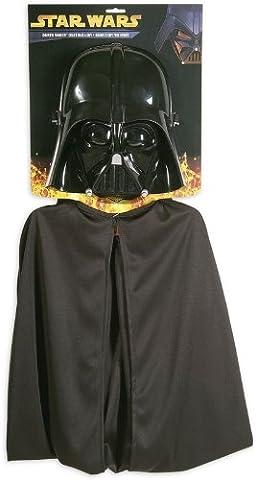 Star Wars Darth Vader Set 2-teilig für Kids / Maske & Umhang in Einheitsgröße