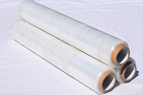 Klar Palette Shrink Stretch Wrap 400 mm x 200 mm x 200 mm x 17 mu 12 Paletten in einer Box