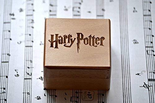 Caja música grabada madera calidad melodía
