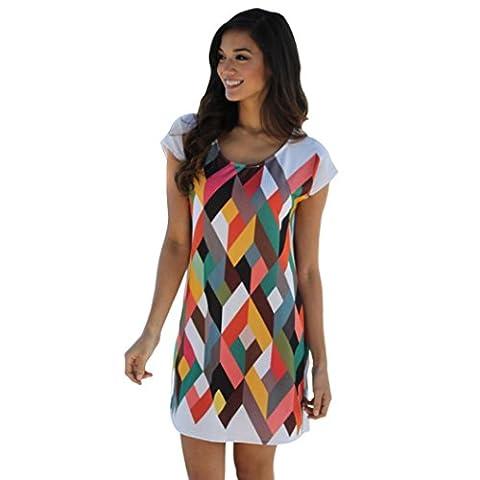 Sportmaking-dress - Robe - Colonne - Femme Multicolore Multicolore - Multicolore - 42