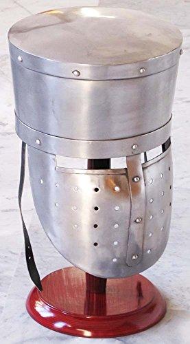 Shiv (TM Shakti Unternehmen Mittelalter Collectible Knight Armor Helm Reenactment LARP Kostüm Crusader Helm