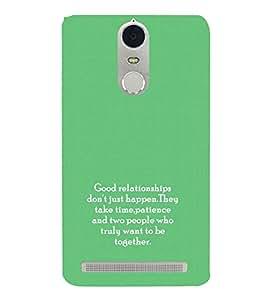 PrintVisa Designer Back Case Cover for Lenovo K5 Note :: Lenovo Vibe K5 Note Pro (Quote Love Heart Messages Crazy Express Sorry )