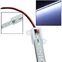 Sonline 50CM 5630 Dia 36 SMD LED blanco de aluminio rigido de Gaza Bar lampara de luz