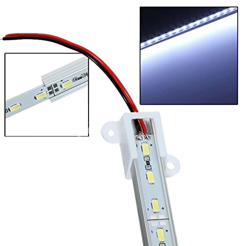 SODIAL (R) 50 cm 5630 SMD LED 36 Tag weiss Aluminium starre Strip-Bar-Licht-Lampe (Starre Led-licht Bar)