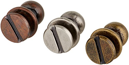 Hitch Fasteners by Tim Holtz Idea-Ology, 12 Fasteners, Assorted Antique Finishes, TH92731