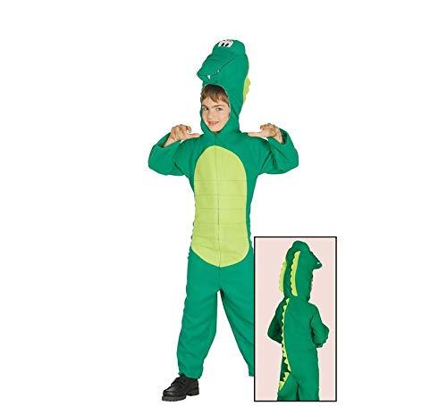stüm für Kinder Krokodilkostüm Aligator, Größe:134/140 ()
