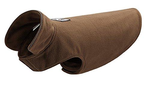 La vogue Wasserdichte Hundemantel Jacke Warm Hund Welpen Kleidung Weste Winter Braun S -
