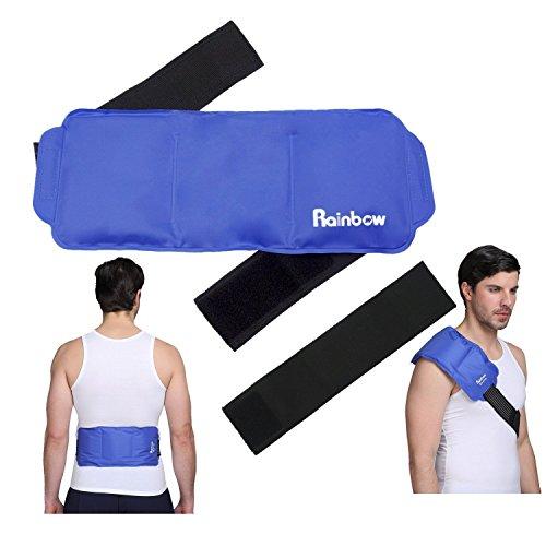 Ice Ice-pack (Schulter kühlkissen Kühlpads Kühlakku Gel Eispack für Schulter, Knie, Rücken Kühl Kalt warm Kompresse Ice Pack Großes für Verletzungen 15
