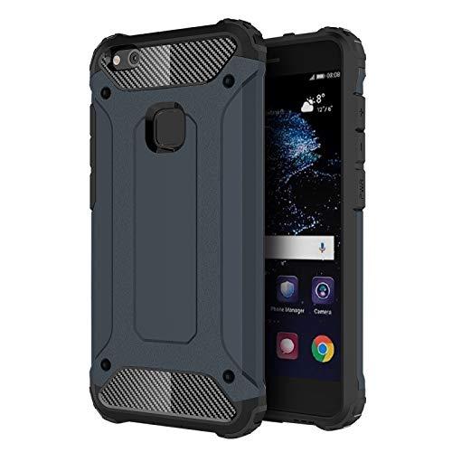 ALLSHOPSTOCK (#52) für Huawei P10 Lite Magie Armor TPU + PC Kombination Schutzhülle(marine-)