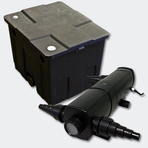 Kit SunSun de Filtration de Bassin Bio Filtre 12000l Stérilisateur UVC 36W