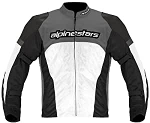 Alpinestars Fabric Fending Air Jacket (Grey, Red, White and Black, 2X-Large)