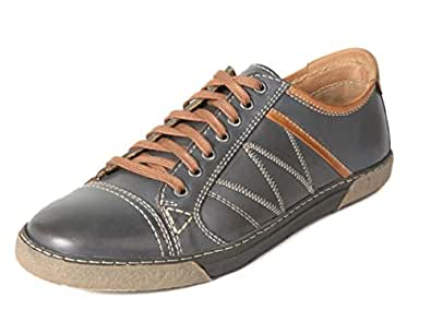 Vito Rossi Men's Blue Leather Shoes - 6 UK