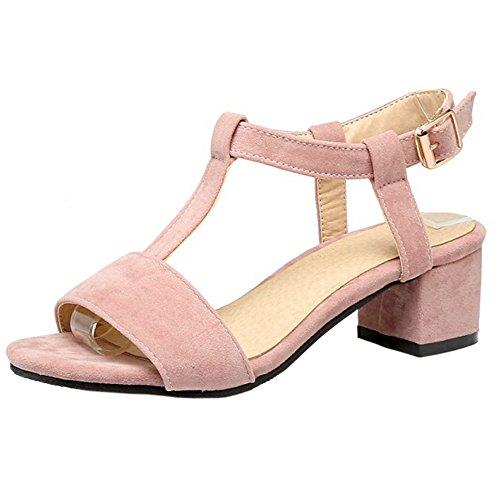 Luxus-Ästhetik besserer Preis klassischer Stil von 2019 COOLCEPT Damen Mode TSpangen Sandalen Blockabsatz Open Toe ...