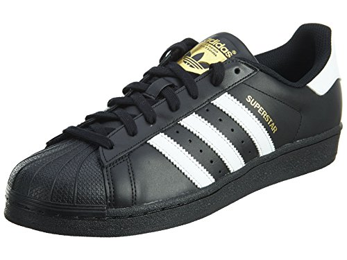 Adidas Originals  Superstar Foundation Scarpe da Ginnastica Unisex - Adulto, Nero (Core Black/Ftwr White/Core Black), 44 EU