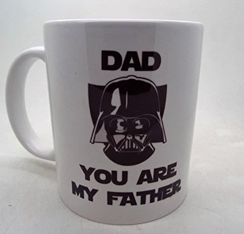 Dad you are my father ml Darth Vader Funny ml taza de cerámica Fathers Day de Navidad