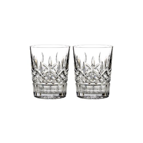 Waterford Lismore 12 oz Double Old Fashioned, Set of 2 by Waterford Crystal Waterford Lismore Double Old Fashion