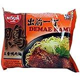 Nissin Demae Ramen japonés sopa de fideos, pato Sabor - 100g