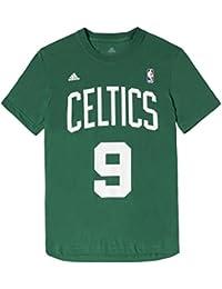 Adidas Boston Celtics Nba Gametime Rondo Camiseta Hombre Verde, S
