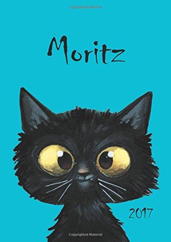 Moritz - Katzen-Kalender 2017: DIN A5 - Katze - Wochenkalender (Kater Kalender)