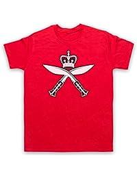 Gurkha Regimental Insignia Badge Logo Herren T-Shirt