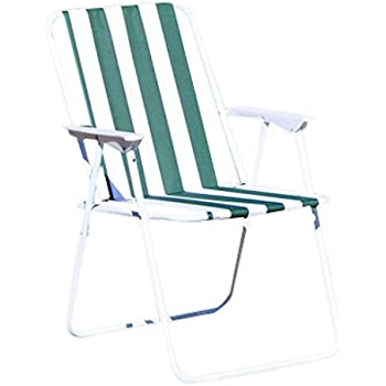 Kingfisher PCO100 Folding Lightweight Picnic Camping Chair - Multi-Colour