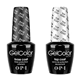 OPI Gelcolor Soak off Gel Base & Top Coat 0.5 oz / 15 ml each by OPI BEAUTY...